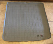 Weathertech 40217 Cargo Liner Trunk Mat For 2005 Audi A4/s4 Avant - Grey Used Gc