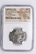 Pamphylia Side Ar Tetradrachm 2nd-1st Centuries Bc Ngc Au Witter Coin