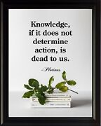 Plotinus Knowledge If It Poster Print Picture Or Framed Wall Art