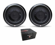 Pair Of Rockford Fosgate 10 Punch P3s Shallow 1200w Dual 4 Ohm Subs P3sd4-10