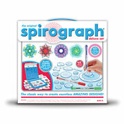 New - Spirograph Deluxe Set - Ages 8+   1+ Players