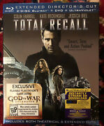 Total Recall Extended Director's Cut 2 Disc Blu-ray+dvd 2012