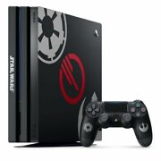 Used Sony Ps4 Playstation 4 Pro Console Star Wars Battlefront Ii Limited Edition