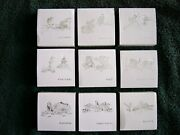 2012 Fuji Treasures Of Mother Nature Set Of 9 Silver Coins See Details/photoand039s