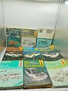 Haynes Automotive Repair Manuals Lot Of 9 Car Motorcycles Electrical Used Shop