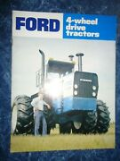 Ford 4-wheel Drive Tractor Brochure