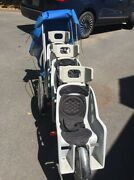 Runabout Brand Triple 3 Seat Stroller - Rare And Discontinued