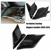 2x Stretched Extended Saddlebag Side Covers For Harley Street Glide Cvo Flhxse