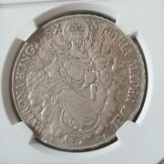 Hungary 1775 Thaler Our Lady Of Christ Madonna Silver Coin Xf45 Diameter 40mm