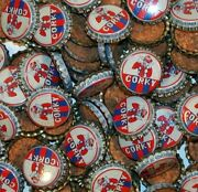 Soda Pop Bottle Caps Lot Of 12 Corky With Clown Cork Lined Unused New Old Stock