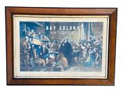 19th C Antique Colored Lithograph The Trial Of Effie Dean Victorian Art