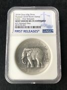 Mint Error Ngc Ms70 2018 Thailand World Stamp Expo Antique Silver Medal 60gram
