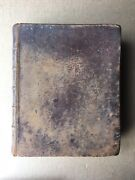 Antique 1834 H And E Phinney Holy Bible Van Winkle Entry Cooperstown Ny 766pgs