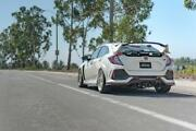 For 2017-2019 Honda Civic Type R Remark Ss Catback Exhaust W/black Tip Cover