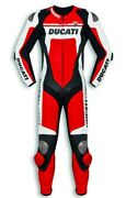 Ducati Dainese Corse C4 Leather Suit Estate One Piece Suit Red New
