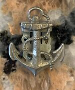 1940andrsquos-50andrsquos United States Navy Boatswain Clip 1 Inch