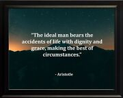 Aristotle The Ideal Man Poster Print Picture Or Framed Wall Art