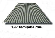 1.25 Corrugated Metal Roofing Or Wall Panel 8ft 29gauge