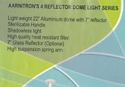 Aarmitron And 4 Reflector Twin Dome Ceiling Model Light 1050 With Halogen Bulb