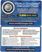 Any City Discount Card 1 Year Pass Up To 50 Off Fast Food Dining Movies And More
