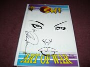 Shi The Art Of War San Diegotour Book Original Sketch And Signed By Billy Tucci