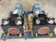 2 Positive Displacement Pump Sliding Vane With Warm/cold Water Jacketing