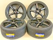 18/19 Oem Corvette C6 C7 Factory Wheels Tires Rims Satin Finish New 5632 5638