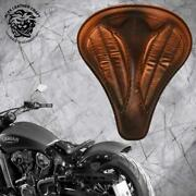 Solo Seat Indian Scout Since`17+mounting Kit+springs Long Vintage Brown V2 L