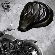 Solo Seat Indian Scout Since`17+mounting Kit+springs Spider Black V3 S