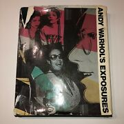 Andy Warhol - Book Andy Warholand039s Exposures - Signed And Certified