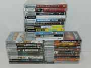Sony Psp Playstation Movies Complete Fun You Pick And Choose Video Games Lot Umd