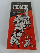 1952 Cleveland Indians Press Radio Tv Yearbook Media Guide