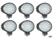 6x Professional Oval 65w Led Work Lights Lamps Flood Beam Digger Tractor Digger