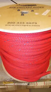 New 3/4 X 500and039 Double Braid Nylon Anchor Line Mooring Anchor Rope Dock Line
