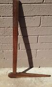 T.r. Hoyt Jr Wood And Brass Log Caliper Ruler Lumber Timber Forestry Nh Taggart