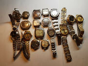 Vintage Seiko Windup And Automatic Ladies Watches For Restoration Some Run