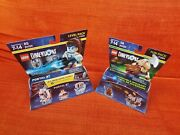 Portal 2 Chell + Sentry Turret + Lord Of The Rings Gimli + Axe Lego Dimensions