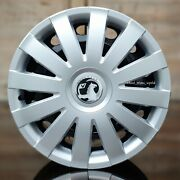 4x15 Wheel Trims To Fit Vauxhall Astracorsacombo Silver