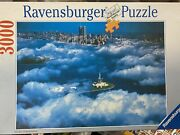 Sea Of Clouds Over New York Rare 1992 Ravensburger Puzzle 3000 Pieces No. 170425