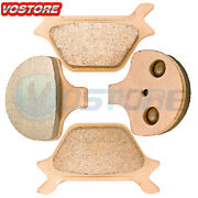 F+r Sintered Brake Pads Fits 1988-1999 Sportster And Softail Series All Models