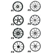 30and039and039 X 3.5and039and039 Front Wheel Rim Hub Single/dual Disc Fit For Harley Road King 08-21