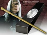 Harry Potter Wand Of Lucius Malfoy With Nameplate Noble Nn8208