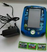 Leapfrog Leappad2 Monster Edition Extremely Rare,with Games.has Scrathes,see Des