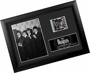 Filmcells The Beatles S4 Minicell Framed Presentation With 1 Clip Of 35mm Fil...