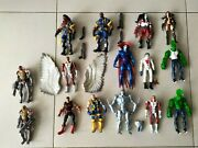 Rare Marvel Legends And Toybiz 16 Action Figures And M.o.d.o.k B.a.f Lot