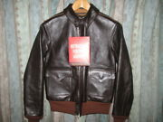 Used the Real Mccoy's A-2 Seal Flight Jacket Leather