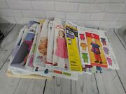 Lot 12+ Mixed Baby Toddler Kids Sewing Patterns Simplicity Mccalls Easy Stitch