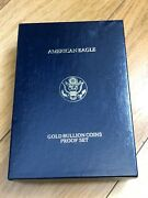 1999 American Eagle 4 Gold Bullion Coin Proof Set Box - No Coins