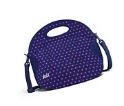 Built Ny Lb12-mnv Spicy Relish Neoprene Lunch Bag With Adjustable Crossbody S...