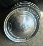 Vintage Desoto Hubcaps And03949-and03950